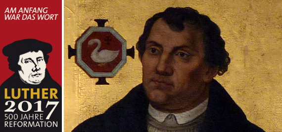 Lutherportrait in der Kilianskirche
